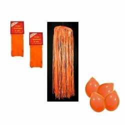 Oranje pakket brandveilig